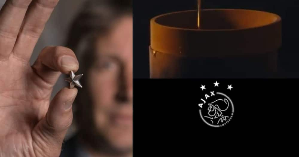 Ajax Fc Melts League Trophy Into Stars to Give to Fans in Remarkable Gesture