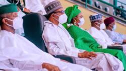 Bayan watanni 5 ba ta Aso Villa, Jama'a su na cigiya a Twitter 'Ina Aisha Buhari ta shiga?'