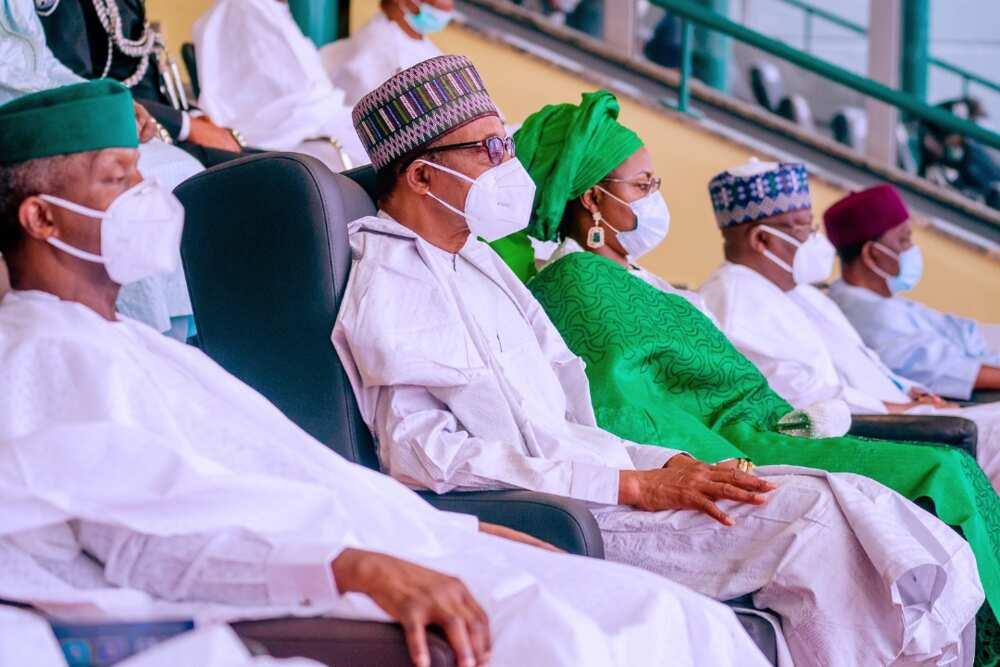 A ceci jama'a: Uwargidar shugaban kasa, Aisha Buhari, ta bukaci mijinta da hafsoshin tsaro