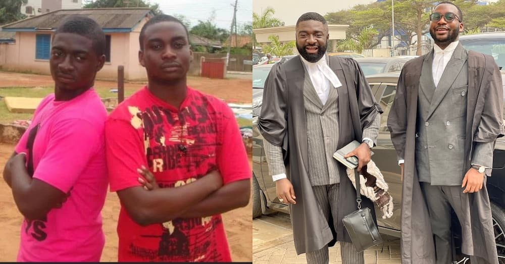 2 Ghanaian brothers make it in life; show how they hustled since 2009
