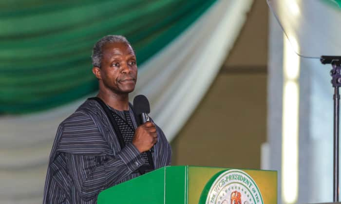 How corruption is fighting back - Osinbajo discloses