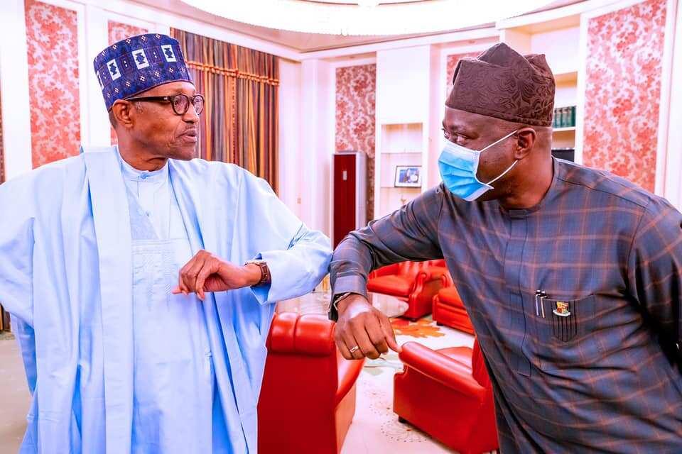 Herdsmen: Buhari meets Governor Makinde in Aso Rock