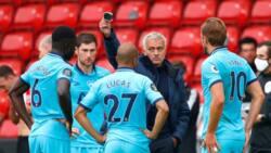 Gori ya kare: Koci Mourinho ya ci wasa a filin kwallon da bai taba samun nasara ba