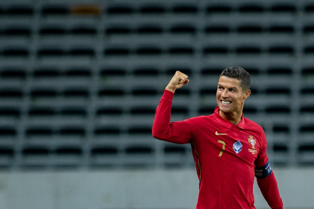 Cristiano Ronaldo vows to score more goals for Portugal after reaching 100