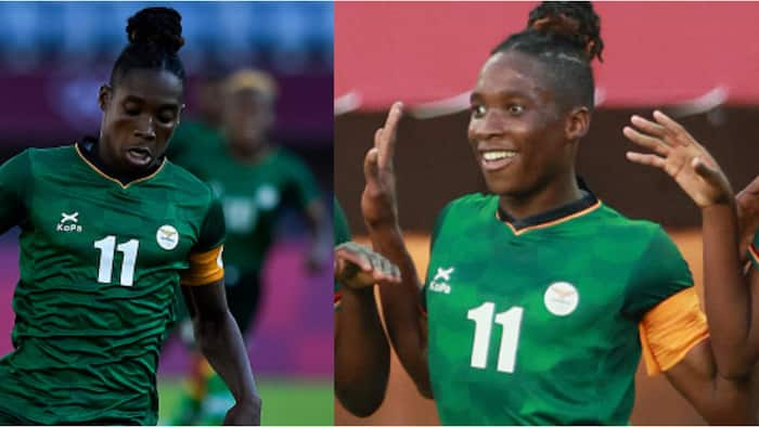 African star sets new Olympic record in style in women's football