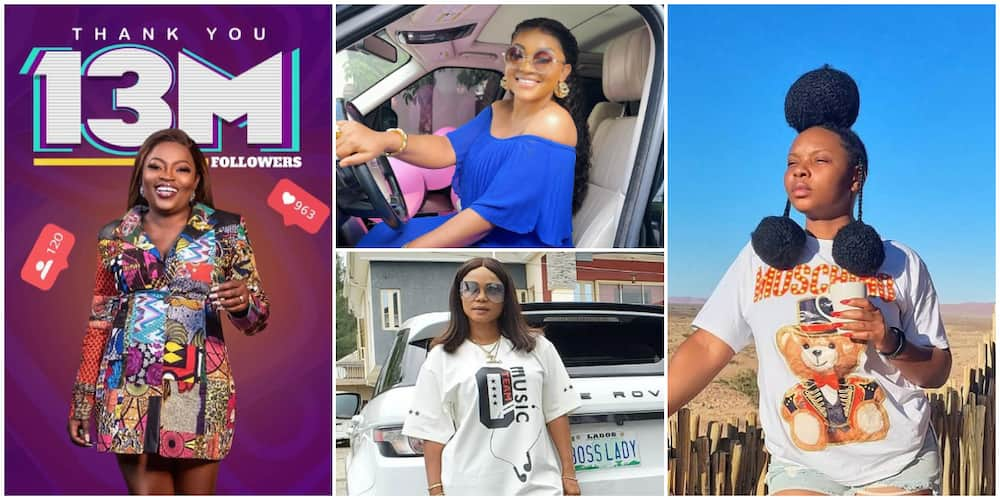 10 Nigerian Female Celebrities with Highest IG Followers, Yemi Alade Leads the Pack with 13.8 Million