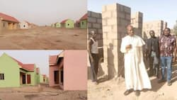 Catholic Bishop of Yola builds estate with 86 houses for IDPs in Adamawa state