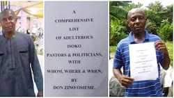 Nigerian activist set to release list, details of adulterous Isoko pastors and politicians, shares paperwork