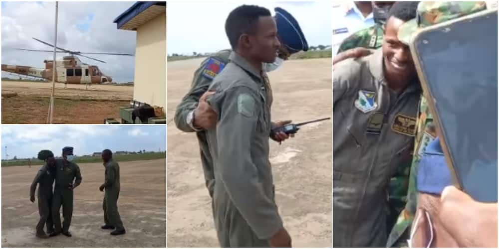 Flt Abayomi Dairo escaped death after his fighter jet was attacked