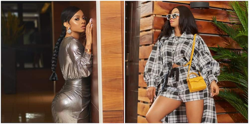 Fans wish Toke Makinwa speedy recovery as she contracts COVID-19 (Video)