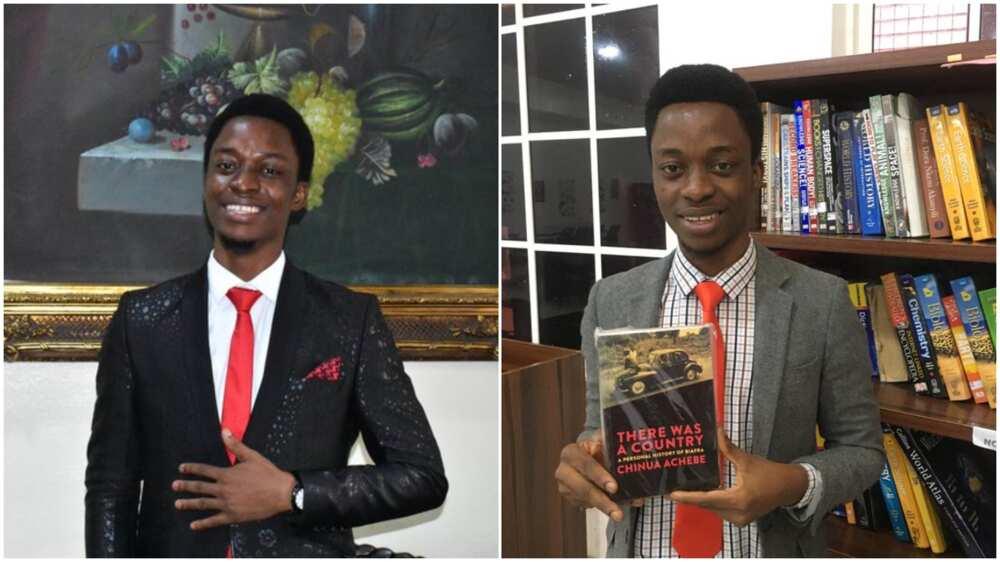 Nigerian man beats more than 1,000 people to win N1.6m writing prize