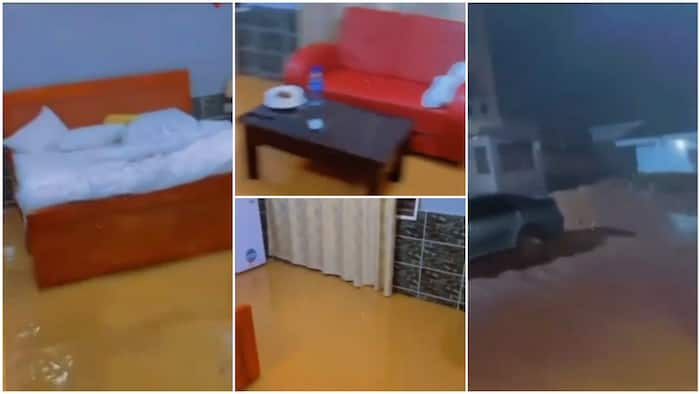 Hotel guests demand refund as rooms turn into 'swimming pool' after heavy downpour in video