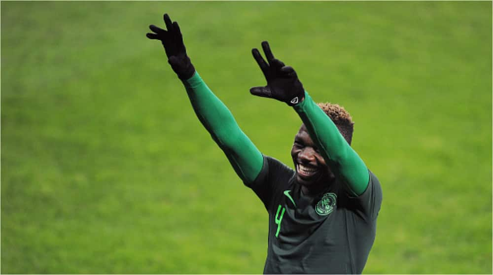 Super Eagles star flaunts cute daughter on his exotic N21m worth Mercedes Benz GLC 300 ride