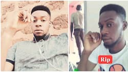 Heartbreaking! Young boy who refused to eat after his parent's death dies of ulcer weeks after (photos)