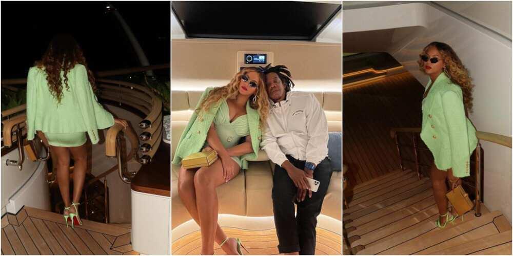 Beyoncé and JayZ