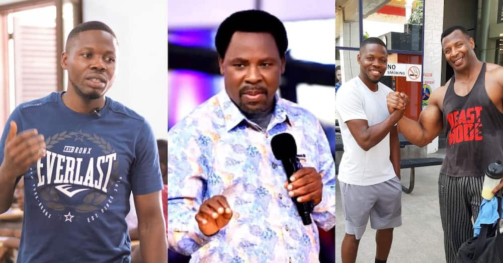 TB Joshua once called me personally to be his fitness trainer -Ghanaian man narrates