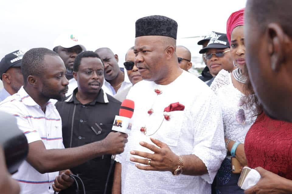 Akpabio Rejects Jailed Professor, Says he did not Rig for him