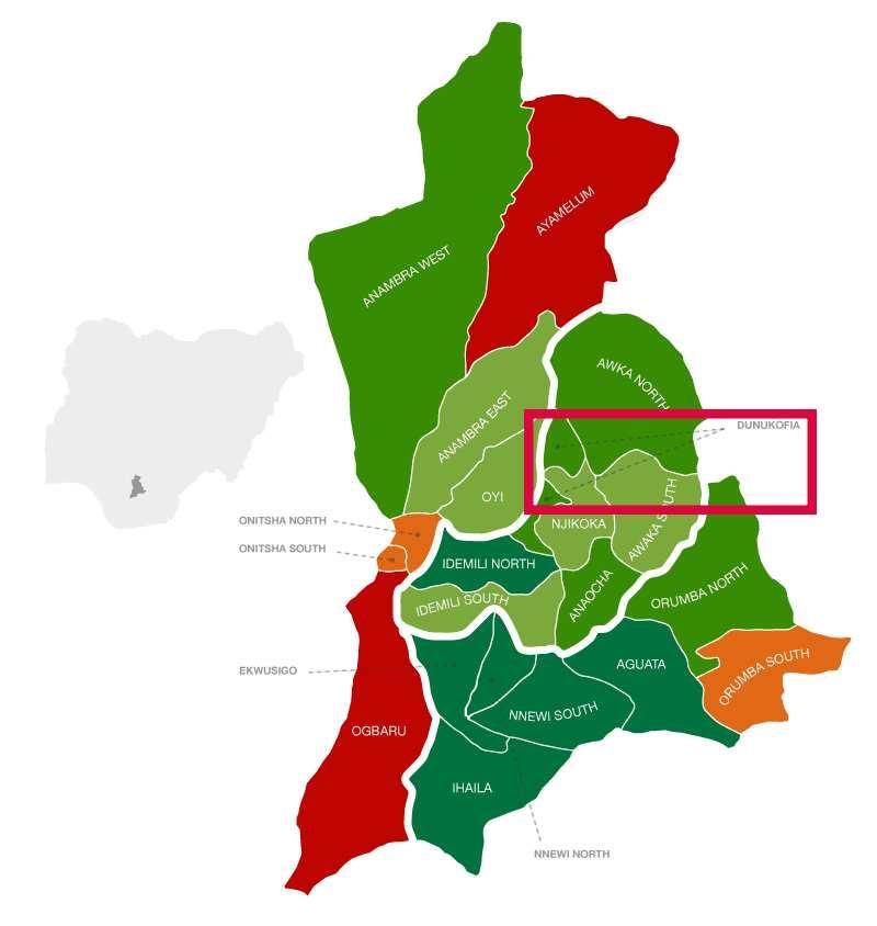 Dunkofia location