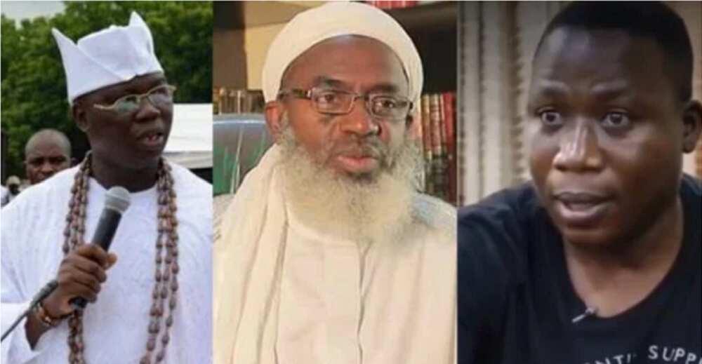 Ziyarar Da Sheikh Gumi Ya Kai Garin Igboho 'Neman Rigima' Ne, In Ji Basarekan Yarbawa, Gani Adams