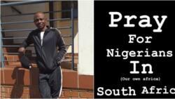 Yoruba actor Abiola Kazeem aka Jiganbabaoja spearheads peaceful protest against xenophobia