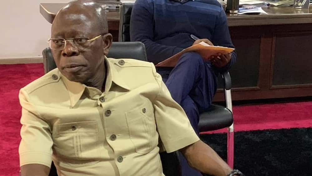 Adams Oshiomhole: Protests in Edo against for, APC chairman