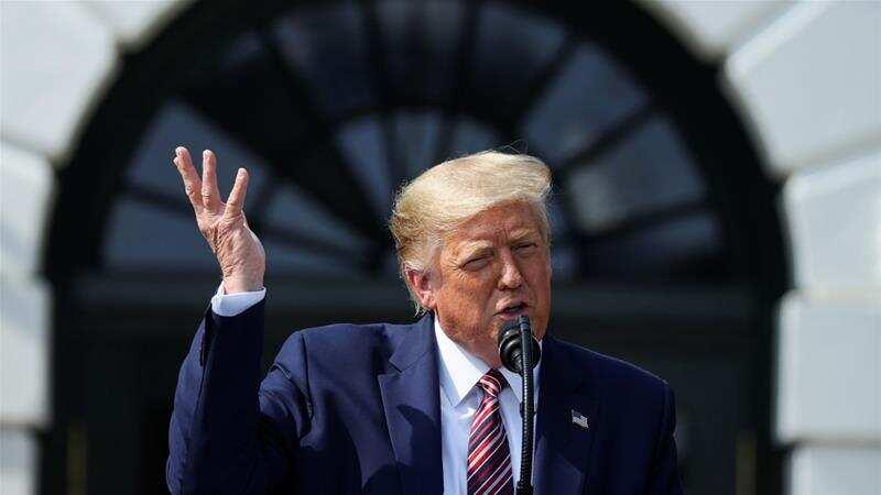 Trump says he'll seek a third term in office