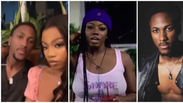 BBNaija: Nigerians react to photo, video of Angel's supposed boyfriend