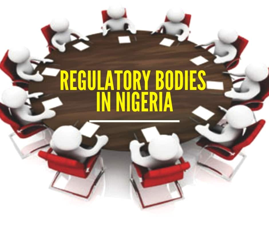 Regulatory bodies in Nigeria and their functions ▷ Legit ng