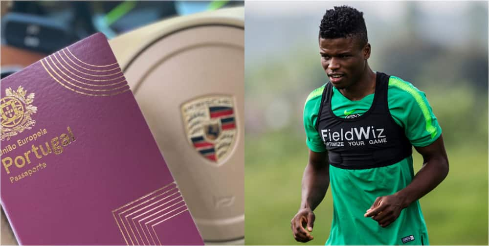 Super Eagles Star Shares Equal Rights With Ronaldo After Being Awarded Portuguese Citizenship