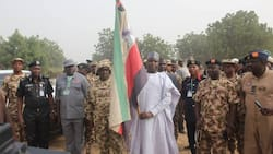 Hope rises as Governor Shettima speaks on the future of Borno after Boko Haram, flags off 'python dance' (photos)