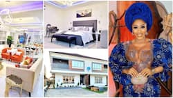 Fans catch rare glimpse of Mercy Eke's new Lagos mansion as breathtaking photos of its interior goes viral