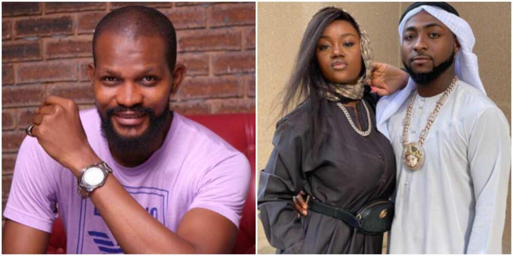 Uche Maduagwu slams Davido, tells him to pick wedding date