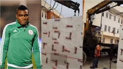 Super Eagles legend who recently built world class hospital for his people buys another massive property (photo)