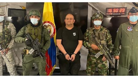Otoniel: Video, stunning revelations emerge as police finally nab Colombia's most-wanted drug lord