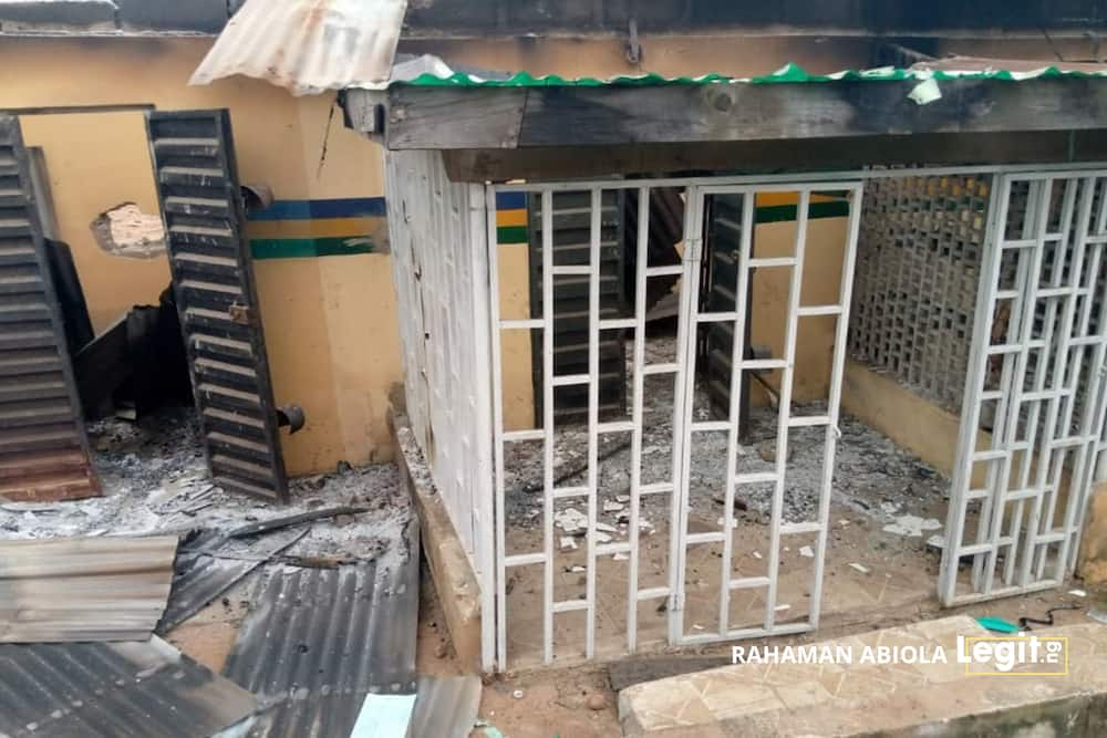 EndSARS: Bank, Custom base, VIO unit attacked as protest turns violent in Oyo