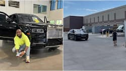Come to daddy: Davido excited as his N240m   Rolls Royce is set to land in Lagos