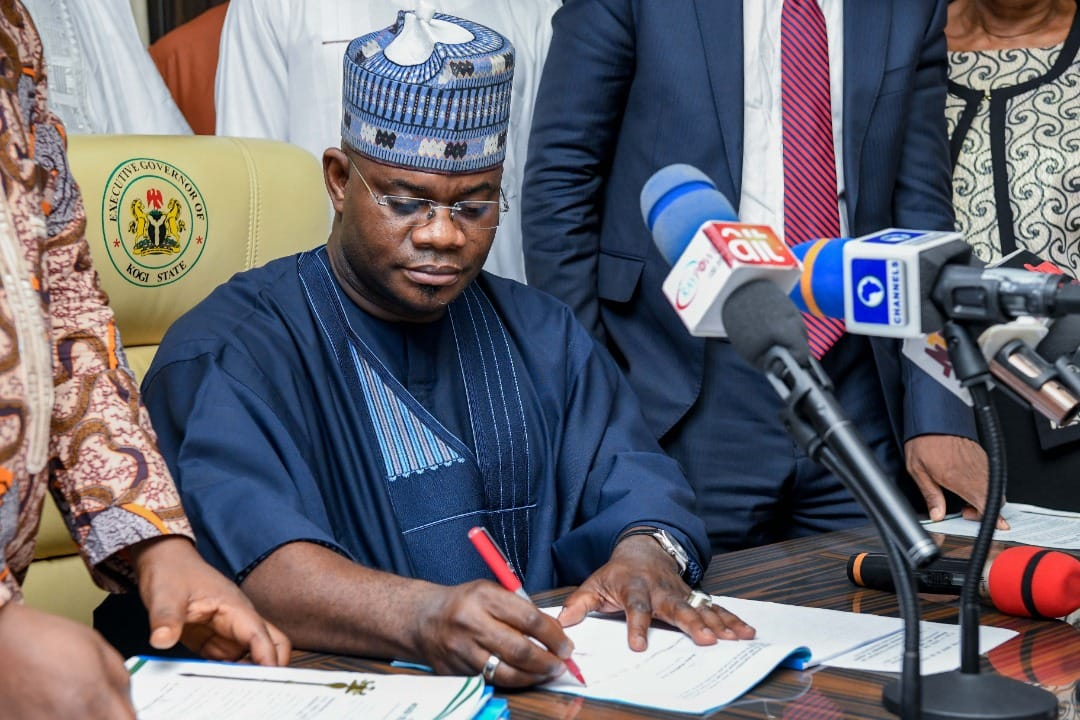 Yahaya Bello appoints new chief of staff, DG protocol