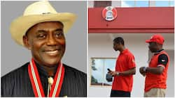 Breaking: Victory at last as Nigerian ex-governor floors EFCC, NIS in court