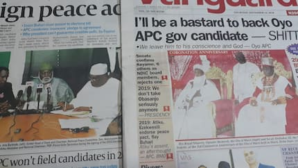 APC, PDP reps clash over unsigned electoral bill - Newspaper review