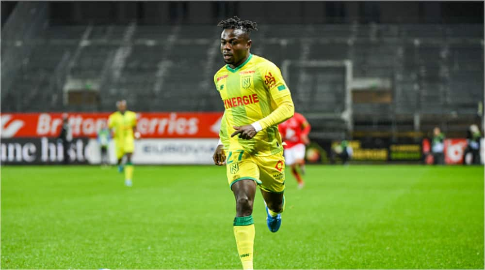 Moses Simon opens goal account for new season in 2-2 draw against Saint-Etienne