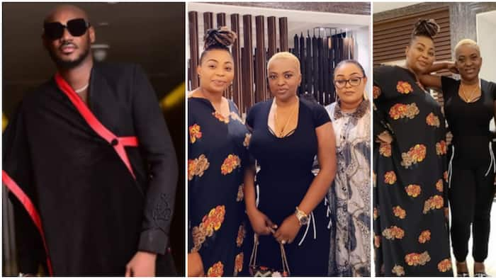 Annie has suffered: Reactions as 2baba's close friends link up with Pero in Abuja, call her first lady