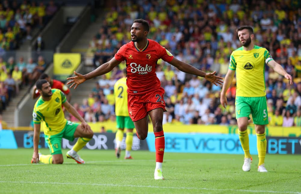 Jubilation as Nigerian striker inspires Premier League club to crucial win away from home