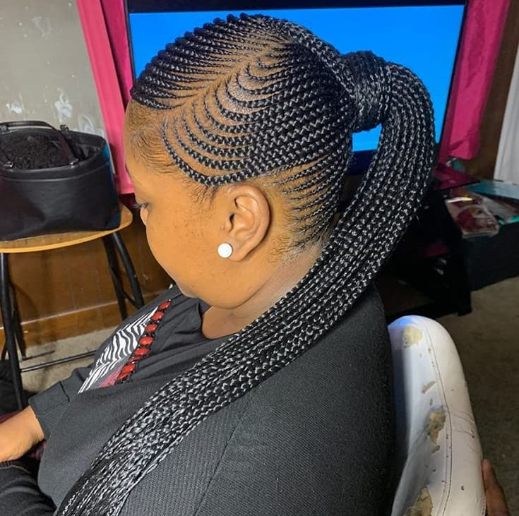 50 Latest Feed In Braids Styles Of 2021 Best Ideas To Try Legit Ng