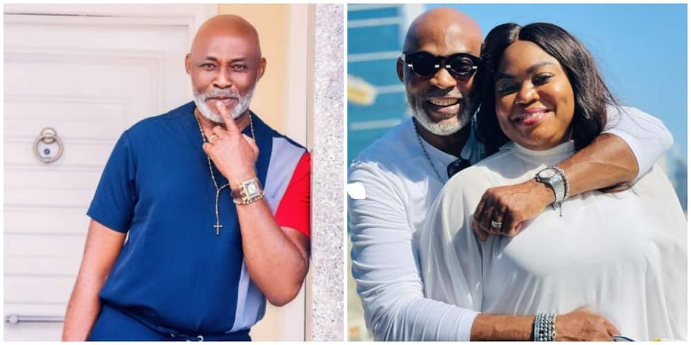 Photos of RMD and his wife, Abike.