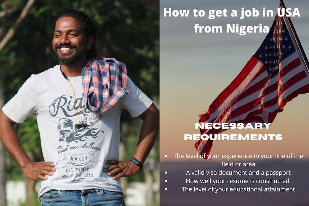 How to get a job in USA from Nigeria