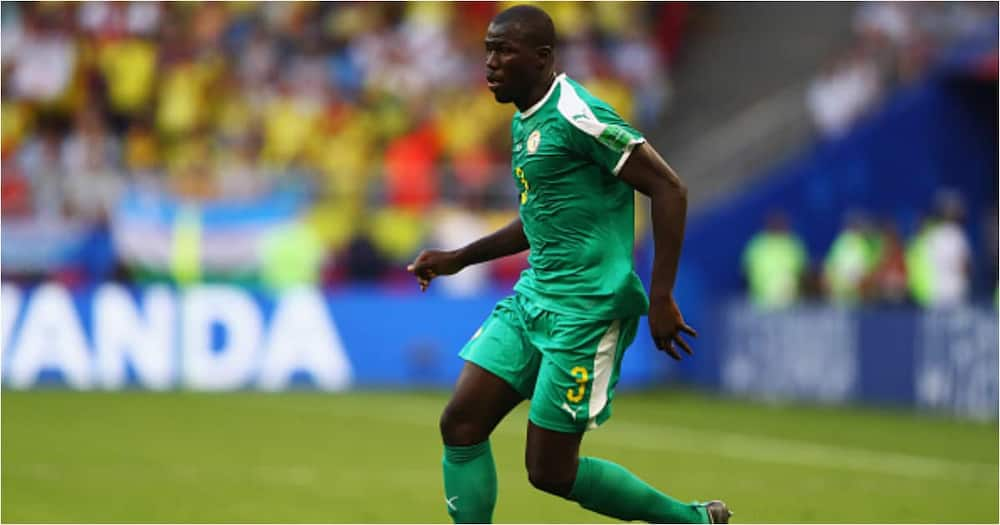 Kalidou Koulibaly in action for Senegal - Getty Images.