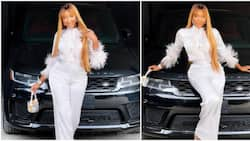 Media personality Idia Aisien receives 2021 Range Rover worth millions of naira as birthday gift from siblings