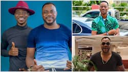 Nollywood actors Odunlade Adekola and Lateef Adedimeji serve fashion inspiration for men in stylish photos