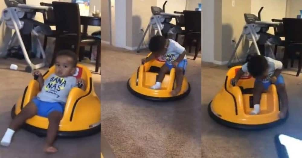 Mom shares hilarious video of son getting bored during quarantine