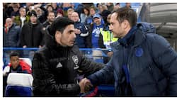 What Frank Lampard told Arteta ahead of London derby between Chelsea and Arsenal